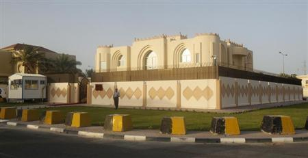 A general view of the Taliban Afghanistan Political Office in Doha June 18, 2013. REUTERS/Mohammed Dabbous