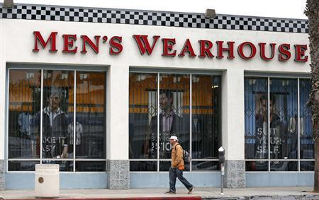 A Men's Wearhouse store is seen in Santa Monica, California, June 25, 2013. REUTERS/Lucy Nicholson