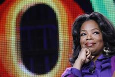 Oprah Winfrey attends a panel during the Oprah Winfrey Network (OWN) Television Critics Association winter press tour in Pasadena, California in this January 6, 2011 file photo. REUTERS/Mario Anzuoni/Files
