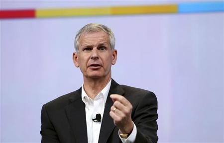 Dish Network Chairman Charlie Ergen speaks during Google's annual developers conference in San Francisco, California May 20, 2010. REUTERS/Robert Galbraith