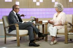 "Matt Lauer interviews Paula Deen (R) on NBC News' ""Today"" show in this handout released to Reuters on June 26, 2013 by NBC NewsWire. U.S. celebrity chef Paula Deen, who had admitted in a lawsuit that she had used a racial slur, said on Wednesday that she is not a racist and would never intentionally hurt anyone. Mandatory Credit: REUTERS/Peter Kramer/NBC/NBC NewsWire/Handout via Reuters"