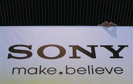 Sony Corp's logo is seen at the company headquarters in Tokyo May 22, 2013. REUTERS/Toru Hanai
