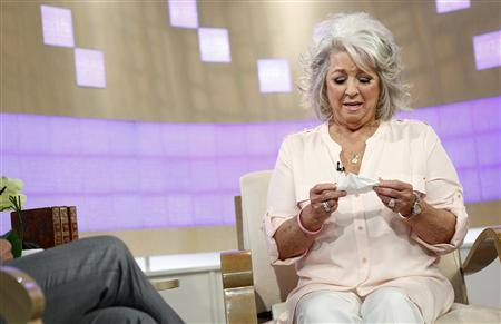 Paula Deen appears on NBC News' ''Today'' show in this handout released to Reuters on June 26, 2013 by NBC NewsWire. U.S. celebrity chef Paula Deen, who had admitted in a lawsuit that she had used a racial slur, said on Wednesday that she is not a racist and would never intentionally hurt anyone. Mandatory Credit: REUTERS/Peter Kramer/NBC/NBC NewsWire/Handout via Reuters