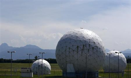 A general view of the large former monitoring base of the U.S. intelligence organization National Security Agency (NSA) in Bad Aibling south of Munich, June 18, 2013. REUTERS/Michaela Rehle