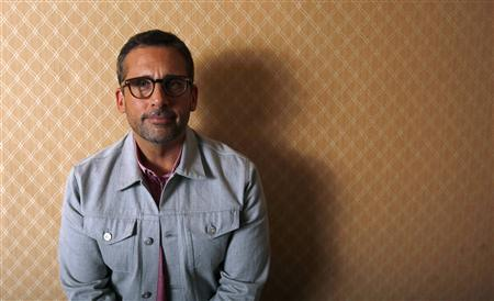 Actor Steve Carell poses for a portrait while promoting his upcoming movie ''Despicable Me 2'' in Los Angeles, California June 14, 2013. REUTERS/Mario Anzuoni