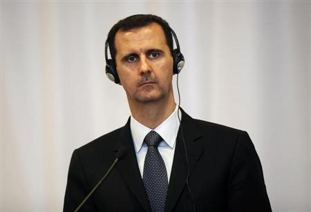 Syria's President Bashar al-Assad listens to a journalist's question during a news conference after his meeting with Turkey's Prime Minister Tayyip Erdogan in Istanbul June 7, 2010. REUTERS/Osman Orsal