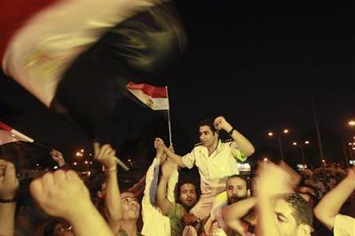 Egypt army topples president, announces transition