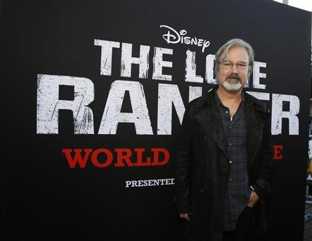 Director of the movie Gore Verbinski poses at the world premiere of ''The Lone Ranger'' at Disney California Adventure Park in Anaheim, California June 22, 2013. REUTERS/Mario Anzuoni