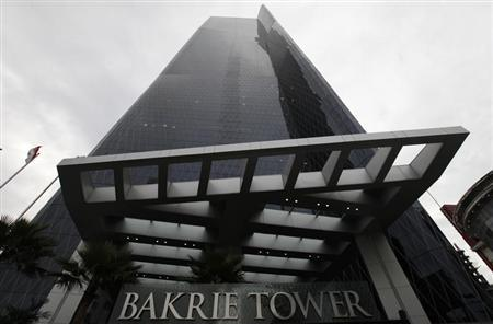 Bakrie Tower, a building developed by Bakrieland Development, a property unit of Bakrie and Bros, is seen in the Jakarta business district March 28, 2011. REUTERS/Enny Nuraheni