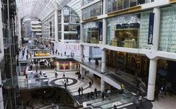 """The Toronto Eaton Centre is seen in a 2012 file photo."" REUTERS/Stringer"