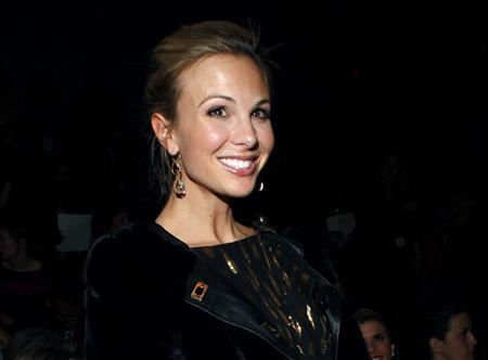 Elisabeth Hasselbeck during New York Fashion Week, February 16, 2011. REUTERS/Eric Thayer