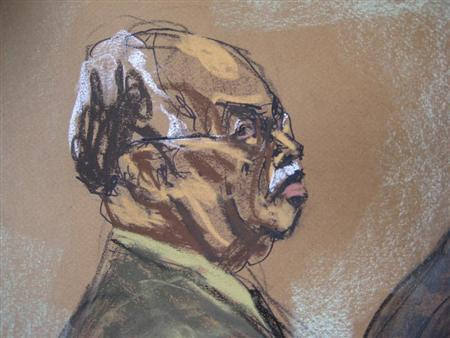 Dr. Kermit Gosnell, 72, is shown in this courtroom artist sketch during his sentencing at Philadelphia Common Pleas Court in Philadelphia, Pennsylvania, May 15, 2013. REUTERS/Jane Rosenberg