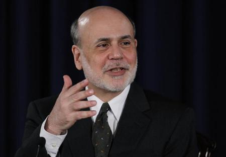U.S.Federal Reserve Chairman Ben Bernanke addresses a news conference following the Fed's two-day policy meeting at the Federal Reserve in Washington, June 19, 2013. REUTERS/Jason Reed