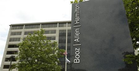 The Booz Allen Hamilton Holding Corp office building is seen in McLean, Virginia June 11, 2013. REUTERS/Kevin Lamarque
