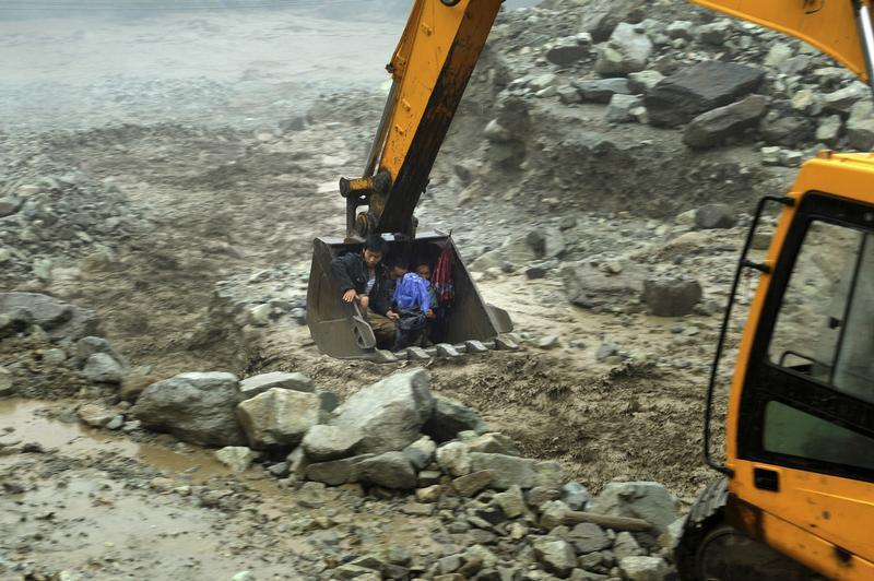 Flooding in Sichuan