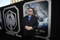 "Director Guillermo del Toro poses at the premiere of ""Pacific Rim"" at Dolby theatre in Hollywood, California July 9, 2013. REUTERS/Mario Anzuoni"