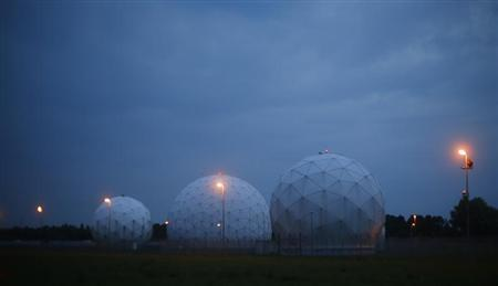 A general view of the large former monitoring base of the U.S. intelligence organization National Security Agency (NSA) during break of dawn in Bad Aibling south of Munich, July 11, 2013. REUTERS/Michael Dalder