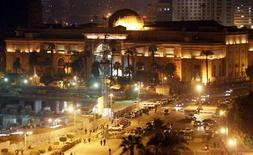 The Egyptian Museum is seen near Tahrir Square in Cairo December 18, 2012. REUTERS/Amr Abdallah Dalsh