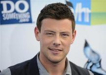 """Ator Cory Monteith em premiação arrives em Santa Monica, Califórnia. O galã do seriado """"Glee"""" foi encontrado morto nesse sábado em seu quarto de hotel em Vancouver, Canadá. 19/08/2012 REUTERS/Gus Ruelas"""