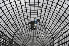 Chantier dans la province chinoise d'Anhui. La Banque asiatique de développement (Bad) a réduit mardi ses prévisions de croissance pour la Chine et, dans la foulée, pour l'ensemble de l'Asie émergente. L'institution, qui a abaissé ses prévisions pour la Chine d'un demi-point, table désormais sur une croissance de 7,7% cette année puis de 7,5% l'an prochain. /Photo prise le 15 juillet 2013/REUTERS