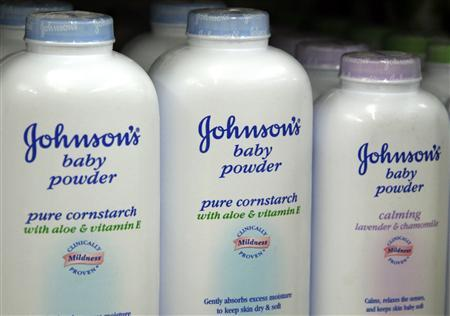 Products made by Johnson & Johnson for sale on a store shelf in Westminster, Colorado in this April 14, 2009 file photo. REUTERS/Rick Wilking/Files