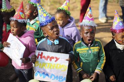 Mandela's 95th birthday