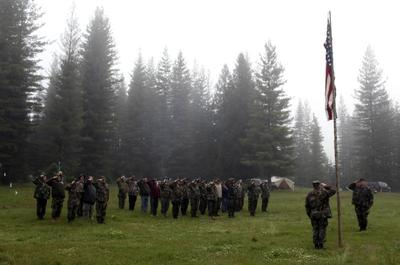 Idaho's militia training
