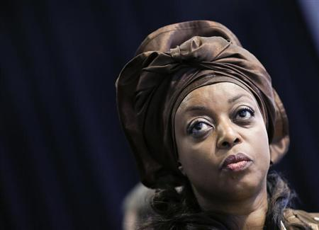 Nigeria's Oil Minister Diezani Alison-Madueke attends the annual meeting of the World Economic Forum (WEF) in Davos January 23, 2013. REUTERS/Pascal Lauener