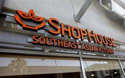A ShopHouse Southeast Asian Kitchen is pictured in Hollywood, California July 16, 2013. REUTERS/Fred Prouser