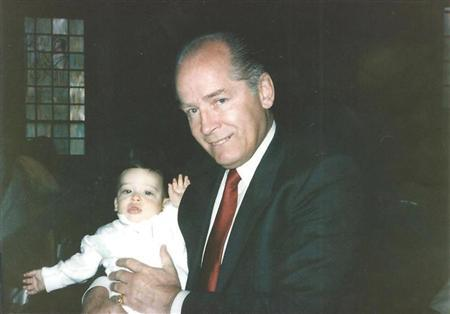 James ''Whitey'' Bulger holds John Martorano's youngest son, John Jr., during his Christening ceremony in this undated handout photo provided by the U.S. Attorney's Office in Massachusetts. REUTERS/U.S. Attorney's Office of Massachusetts/Handout via Reuters