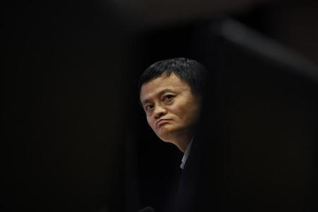 Jack Ma, chairman of China's largest e-commerce firm Alibaba Group attends a corporate event at the company's headquarters on the outskirts of Hangzhou, Zhejiang province April 23, 2013. REUTERS/Carlos Barria