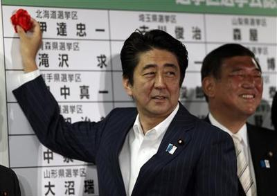 Japan's Abe has chance to show true colors after big...