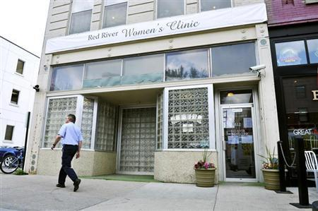 The Red River Women's Clinic is pictured in downtown Fargo, North Dakota July 2, 2013. REUTERS/Dan Koeck