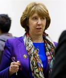 كاثرين آشتون مسؤولة السياسة الخارجية بالاتحاد الأوروبي - ارشيف رويترز