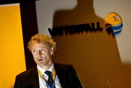 File photo of of Vattenfall's Chief Executive Oystein Loseth during a news conference in Stockholm July 29, 2010. REUTERS/Scanpix/Files