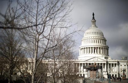 The U.S. Capitol Building is pictured in Washington, February 27, 2013.REUTERS/Jason Reed