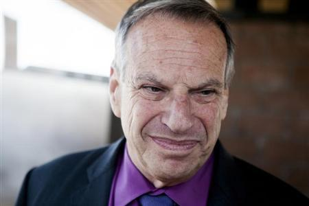 San Diego mayor Bob Filner attends the ground breaking ceremony for improvements for the San Diego Trolley system in San Diego, California July 25, 2013. REUTERS/Sam Hodgson