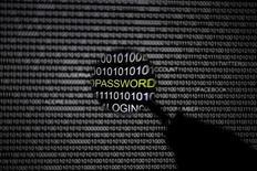 Увеличительное стекло перед экраном компьютера на снимке, сделанном в Берлине 21 мая 2013 года. США обвинили русских хакеров в киберпреступлении века. REUTERS/Pawel Kopczynski