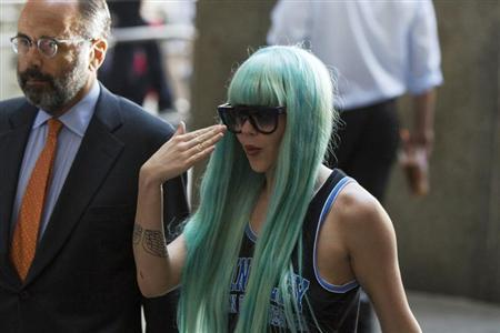 Actress Amanda Bynes arrives for a court hearing at Manhattan Criminal Court in New York, July 9, 2013. REUTERS/Lucas Jackson