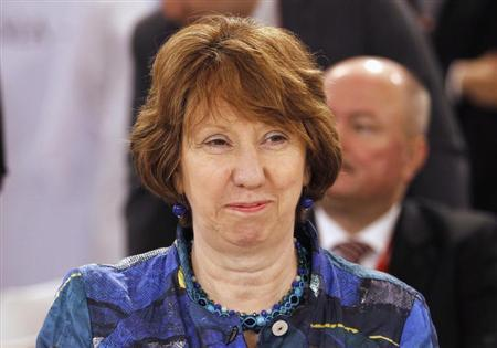 European Union foreign policy chief Catherine Ashton smiles during the 23rd EU-GCC Council and Ministerial Meeting in Manama, June 30, 2013. REUTERS/Hamad I Mohammed