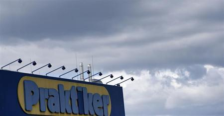 Clouds are pictured above the German do-it-yourself retailer Praktiker in Berlin July 11, 2013. REUTERS/Tobias Schwarz