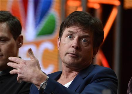 Executive producer and cast member Michael J. Fox participates in a panel for ''The Michael J. Fox Show'' during the NBC sessions at the Television Critics Association summer press tour in Beverly Hills, California July 27, 2013. REUTERS/Phil McCarten