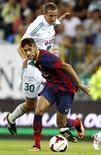 O atacante Neymar estreia pelo Barcelona contra o Lechia Gdansk, em amistoso nesta terça-feira, na Polônia. REUTERS/Kacper Pempel