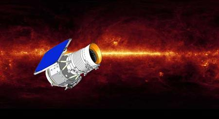An artist's concept of Wide-field Infrared Survey Explorer (WISE) is shown in this publicity illustration released to Reuters November 17, 2009. REUTERS/NASA/JPL-Caltech/Handout