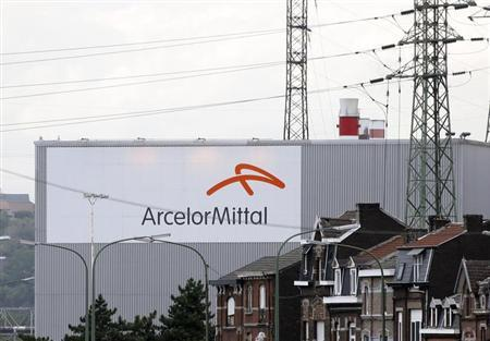 General view of the ArcelorMittal steel plant in Liege September 18, 2012. REUTERS/Francois Lenoir