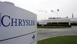 Chrysler Canada's Brampton Assembly plant is seen April 30, 2008. REUTERS/Peter Jones