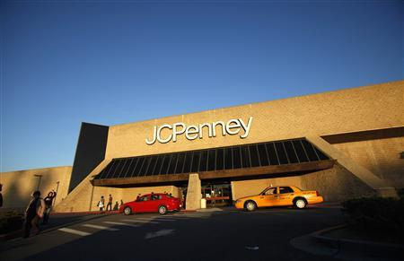 The entrance of a J.C. Penney store is pictured in Arcadia, California in this March 1, 2013, file photo. REUTERS/Mario Anzuoni/Files