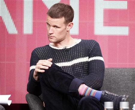 Actor Matt Smith who plays character Dr. Who on the BBC America cable channel series ''Dr. Who'' takes part in a panel discussion at the Television Critics Association Cable TV Summer press tour in Beverly Hills, California July 25, 2013. REUTERS/Fred Prouser