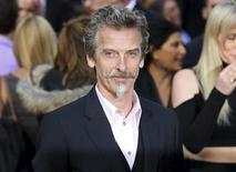 "Scottish actor Peter Capaldi arrives for the world premiere of his film ""World War Z"" in London June 2, 2013. REUTERS/Neil Hall"