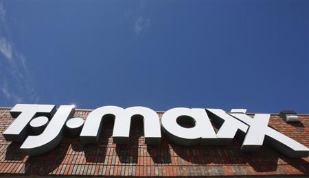 A TJ Maxx store is pictured in Dallas, Texas October 9, 2008. REUTERS/Jessica Rinaldi